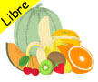 Logo Fruits & vegetables memory game