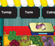 Fruits & vegetables reading game