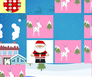 Logo Christmas memory game